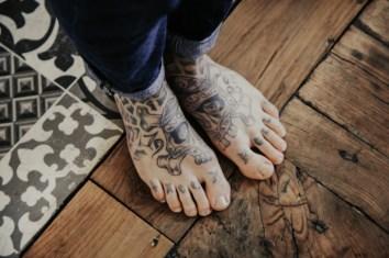 Tatouage sur les pieds