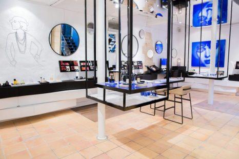 Boutique Chanel dans le Marais à Paris