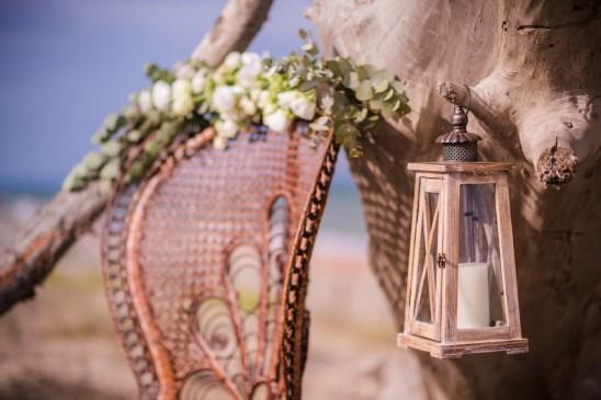 Décoration d'un mariage à la plage