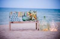 Décoration de mariage à la plage