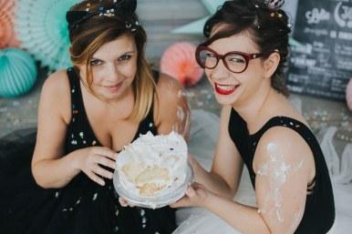 Idée pour un EVJF : séance photo Smash The Cake