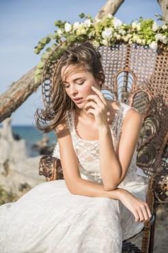 Mariée dans un fauteuil Emmanuelle