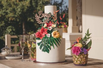 Wedding Cake tropical