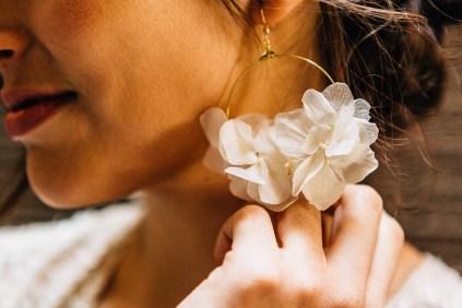 Boucles d'oreilles Maria Blanche - Les Couronnes de Victoire