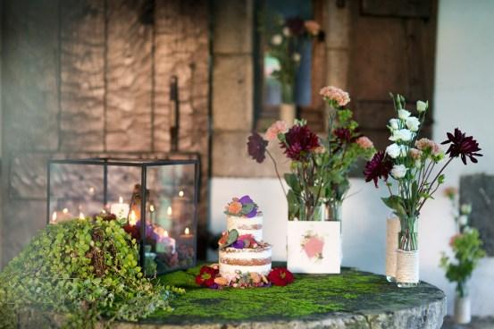 Wedding cake basque