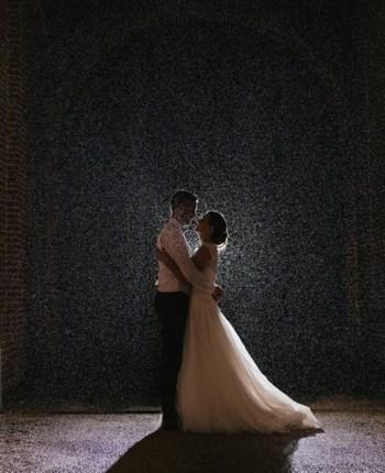 Le mariage romantique et sous la pluie de Mélanie et Anthony