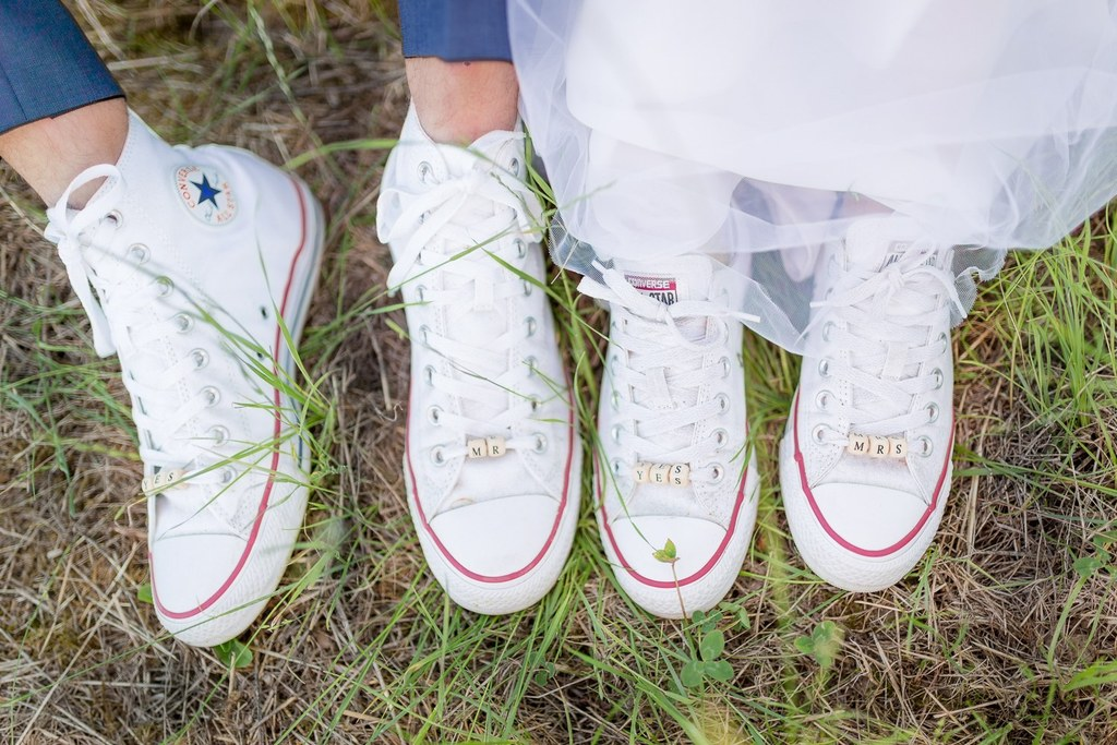converse femme mariage