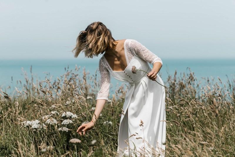 Lorafolk Collection 2019 Robe de mariée Paule