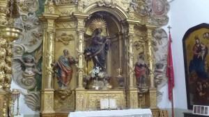 Altar de la Virgen del Rosario