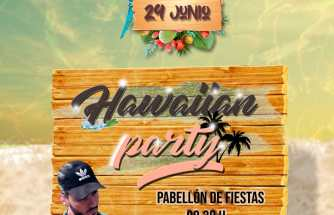 Hawaiian Party Las Pedrosas 2019