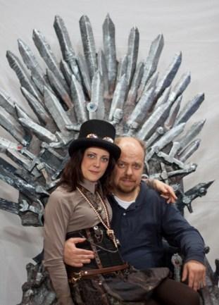 Simone Carozzo & Giorgia Lolli Raffa - Staff - La Spezia Comics and Games