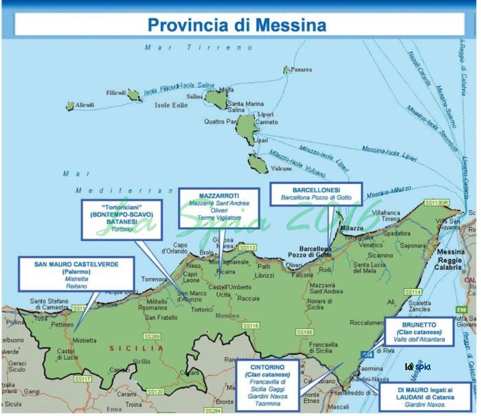 La mafia in sicilia la nuova mappa di cosa nostra 2016 for Cosa mettere sulla madia