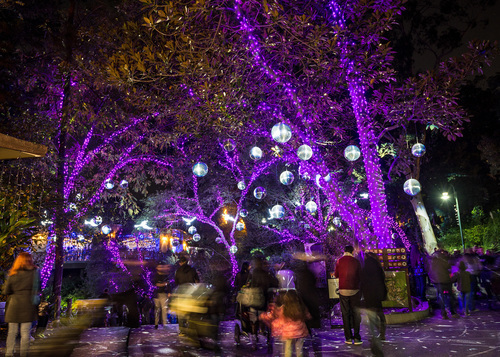 La Zoo Lights Nightly Admission December 3