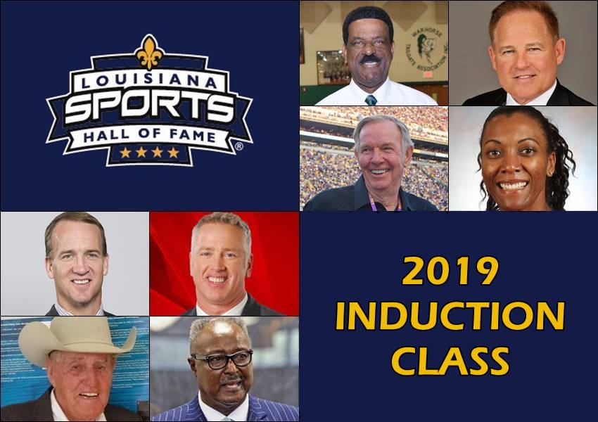 Louisiana Sports Hall of Fame announces 2019 induction class