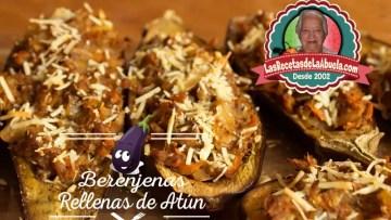 Berenjenas Rellenas de Atún
