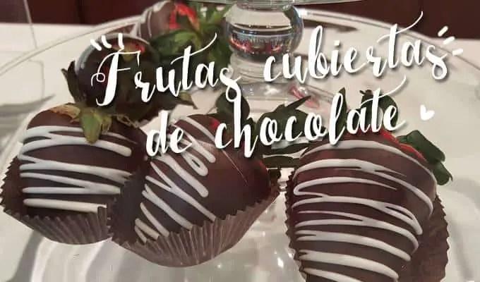 ARREGLOS FRUTALES CON CHOCOLATE | Las Recetas de Laura