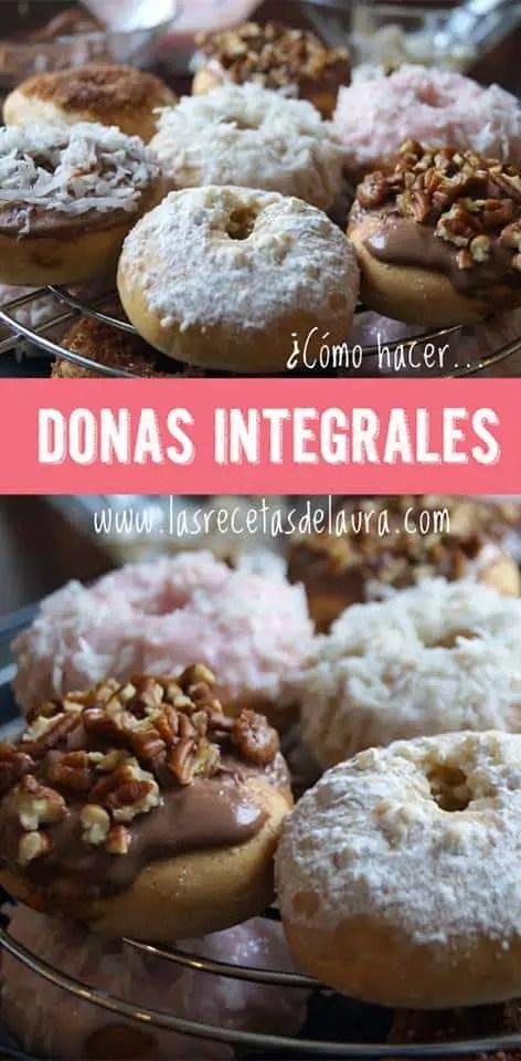DONAS INTEGRALES - LAS RECETAS DE LAURA