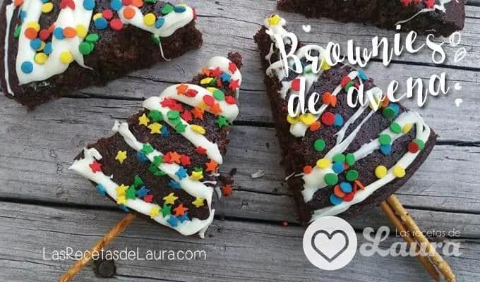 Brownies de Avena - Las Recetas de Laura