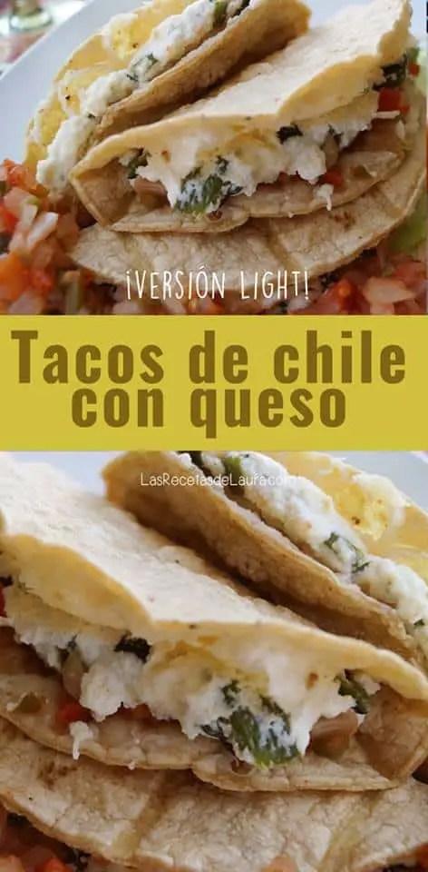 tacos con queso fresco - las recetas de laura