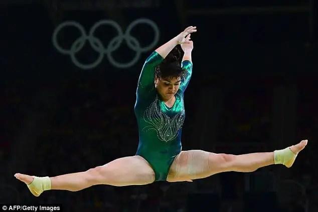 Alexa Moreno mexican gimnastic body shaming