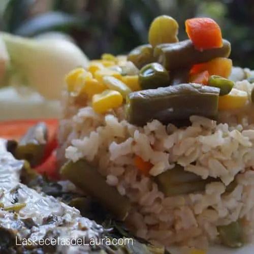 Arroz Integral con Verduras | Las Recetas de Laura