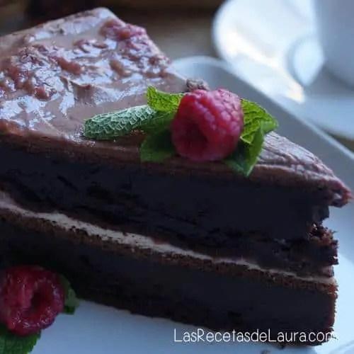 Pastel de Chocolate | Las Recetas de Laura