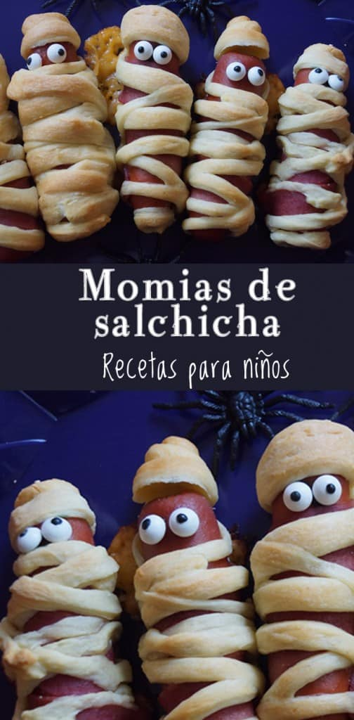 Momias de Salchicha de Pavo | Las Recetas de Laura