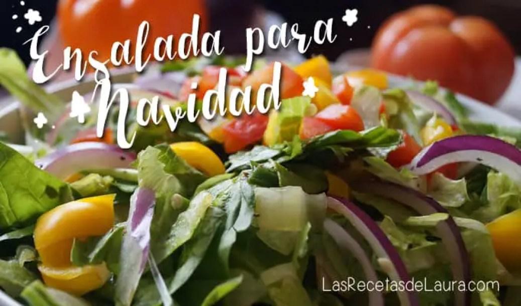 Ensalada Verde con Pimientos| Las Recetas de Laura