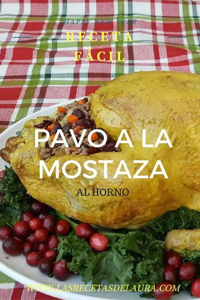 PAVO A LA MOSTAZA - LAS RECETAS DE LAURA