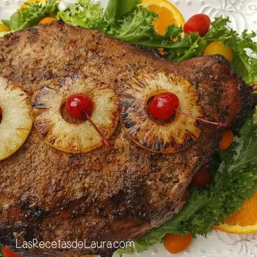 Pierna al horno | Las recetas de Laura