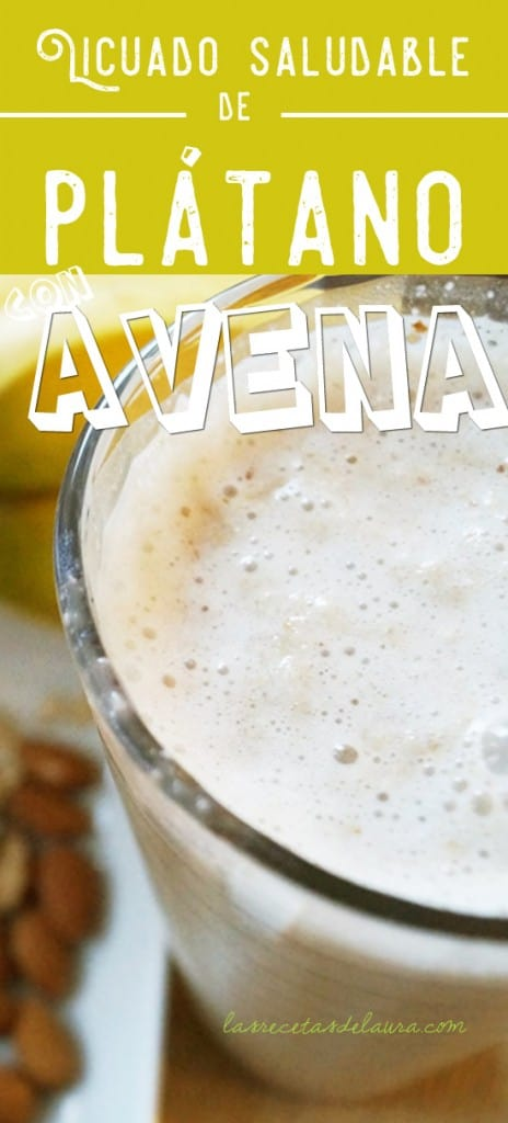 licuado de platano - las recetas de laura
