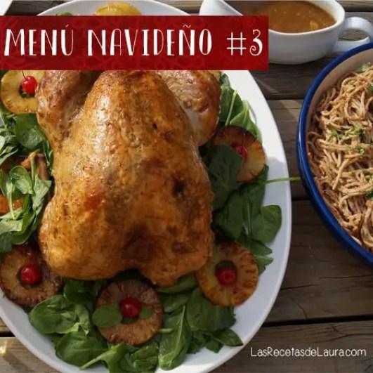menu navideño con pavo - Las recetas de Laura