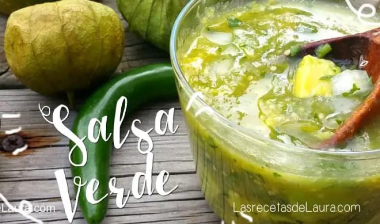 Salsa verde - las recetas de Laura