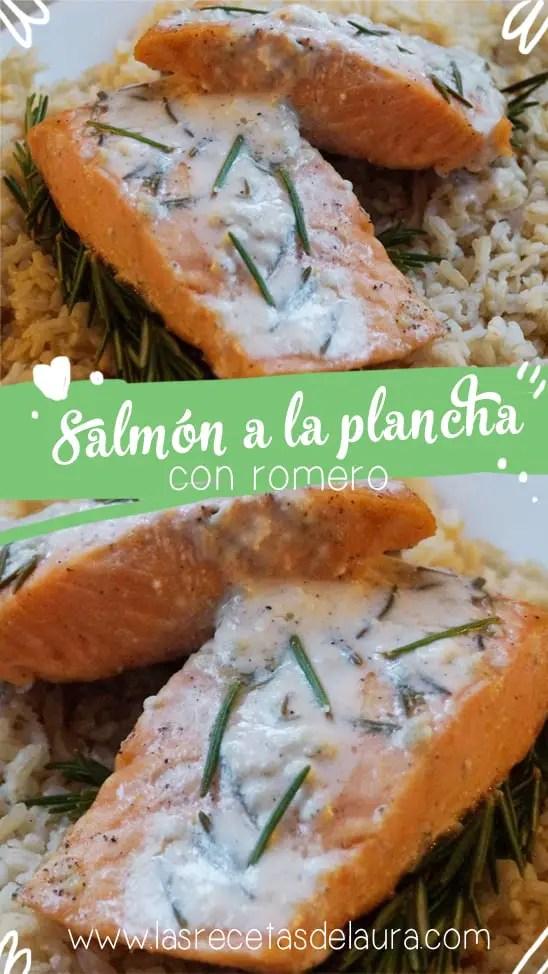 salmón a la plancha - las recetas de Laura