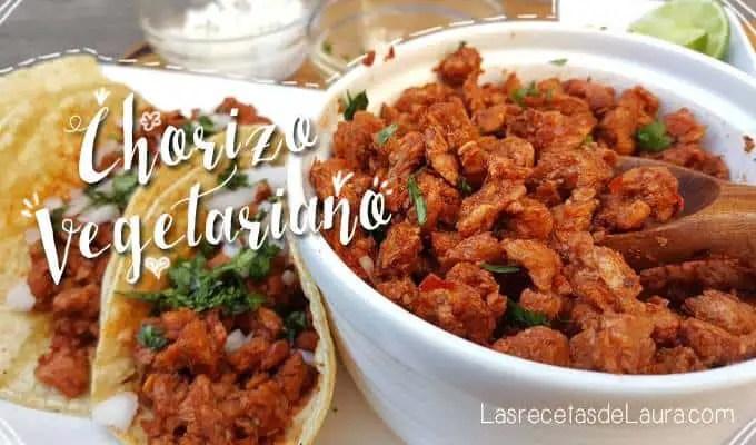 Chorizo Vegetariano De Soya Las Recetas De Laura