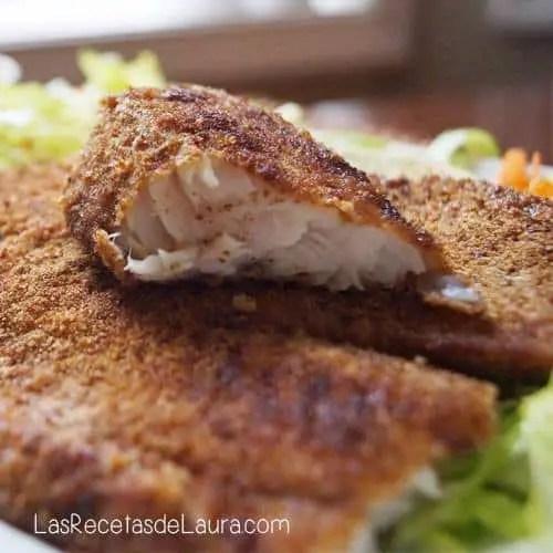 Pescado empanizado - las recetas de Laura