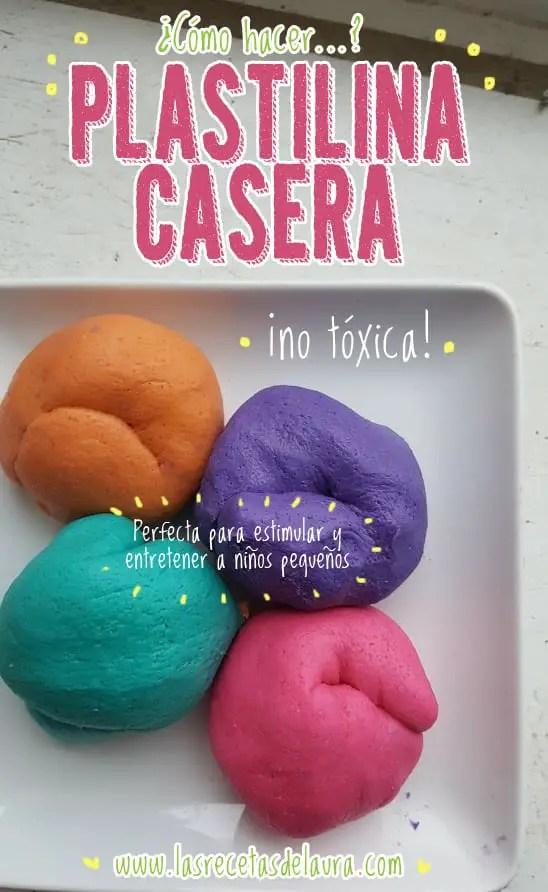 Plastilina casera - las recetas de Laura
