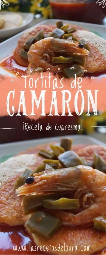 Tortitas de camarón - las recetas de Laura