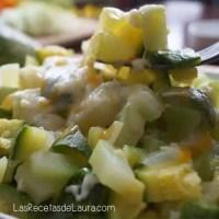 Calabacitas con queso - Las recetas de Laura