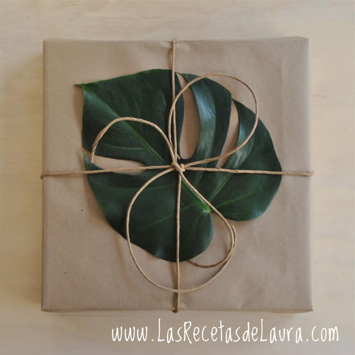 Como envolver un regalo - Las recetas de Laura
