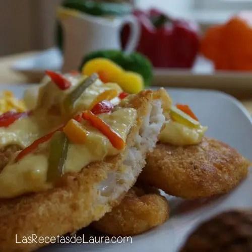 Crema light para bañar pescado - Las recetas de Laura