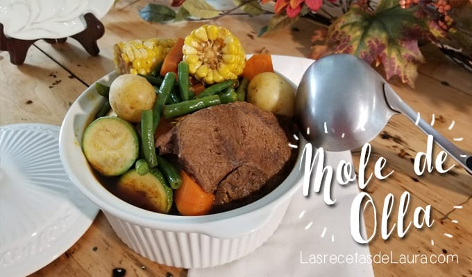 Mole de olla - Las recetas de Laura