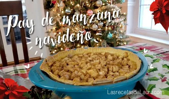 Pay de manzana - las recetas de Laura