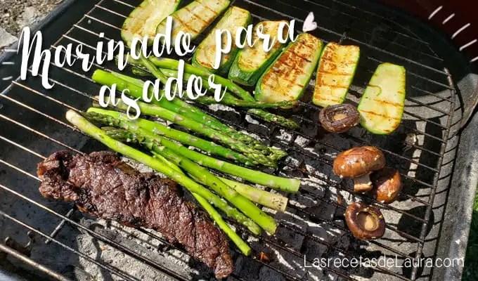 Marinado para asar carne -Las recetas de Laura
