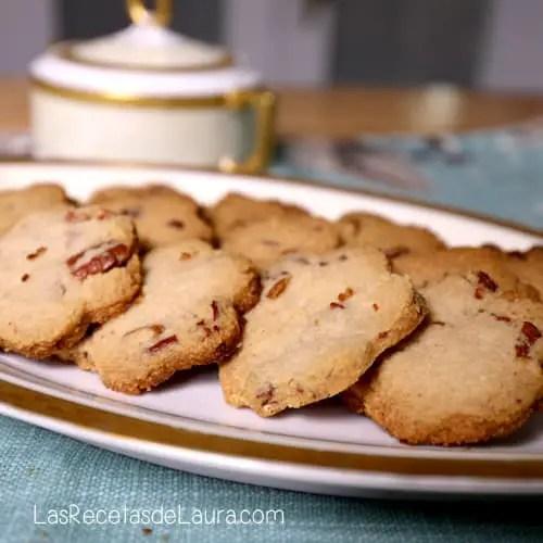 Galletas de nuez saludables - las recetas de laura