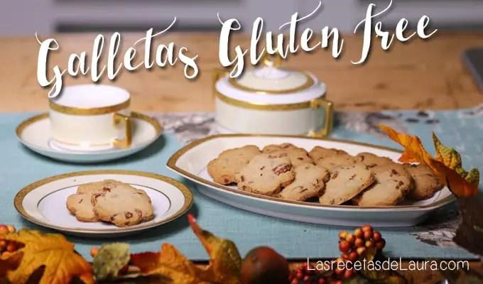 Galletas gluten free y sin lácteos