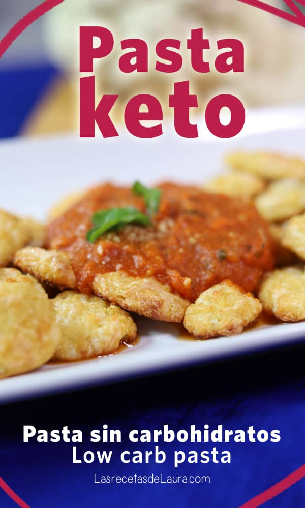Pasta KETO - Pasta sin carbohidratos