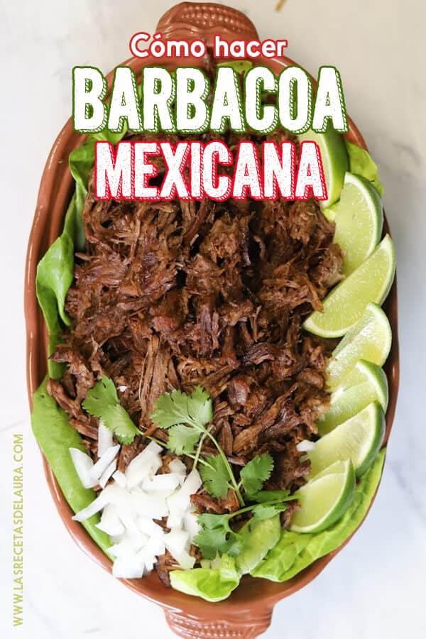 barbacoa receta mexicana