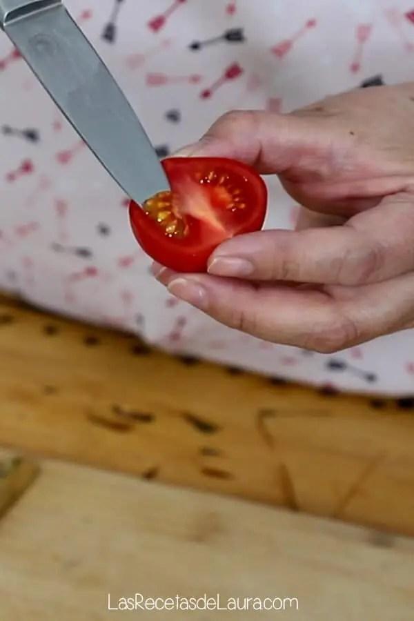 germinar tomates del super