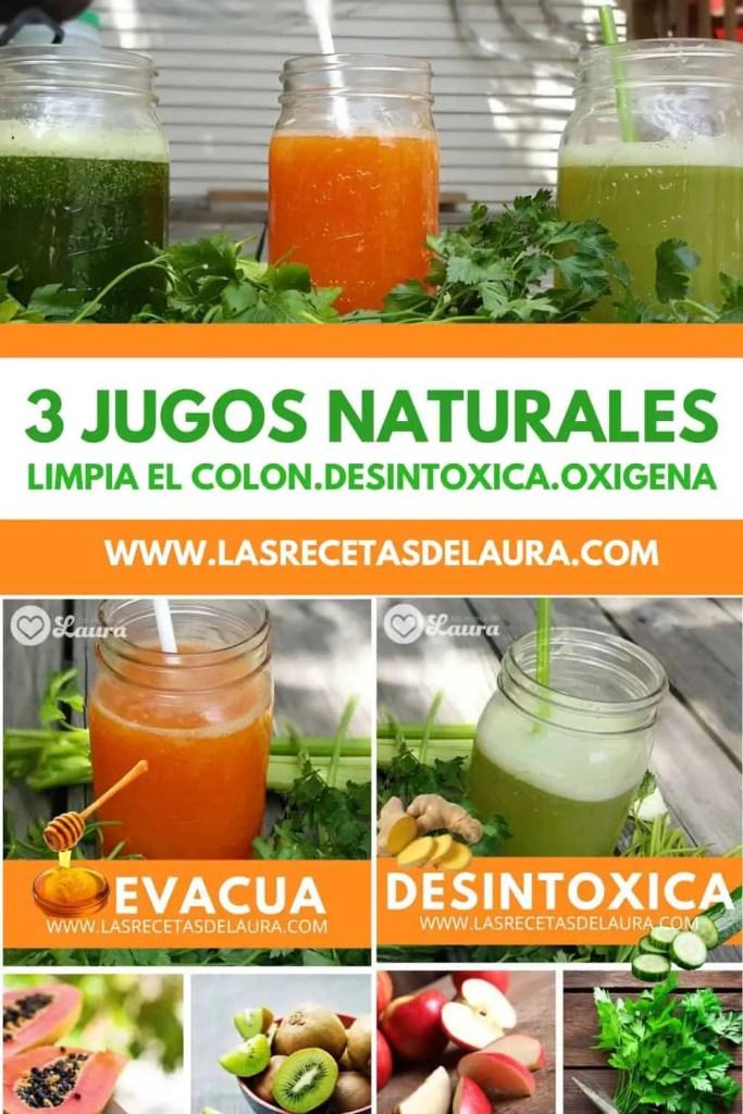 3 Jugos Para Limpiar El Colon Y Desintoxicar Las Recetas De Laura
